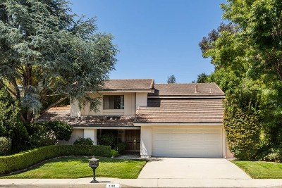 Westlake Village Single Family Home For Sale: 2303 Silver Spring Drive