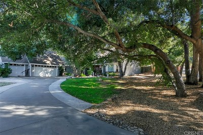 Newhall Single Family Home For Sale: 23981 Wildwood Canyon Road
