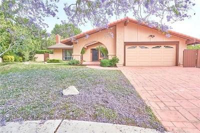 Northridge Single Family Home Active Under Contract: 19124 Clymer Street