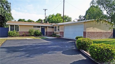 Reseda Single Family Home Active Under Contract: 19418 Lanark Street