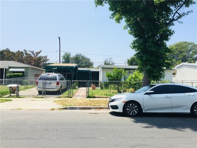 Los Angeles County Single Family Home Active Under Contract: 7911 Ranchito Avenue