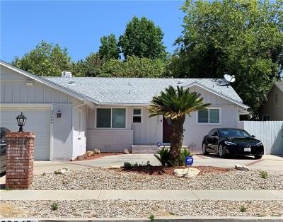 West Hills Single Family Home For Sale: 22645 Kittridge Street