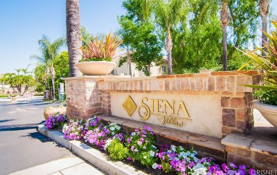 Valencia Condo/Townhouse Active Under Contract: 24135 Del Monte Drive #217