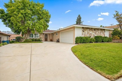 Canyon Country Single Family Home Active Under Contract: 19825 Keaton Street