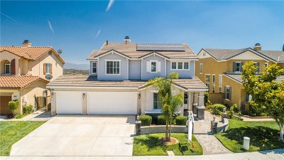 Valencia Single Family Home Active Under Contract: 24086 Via Vista