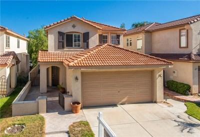 Stevenson Ranch Single Family Home Active Under Contract: 25824 Hammet Circle