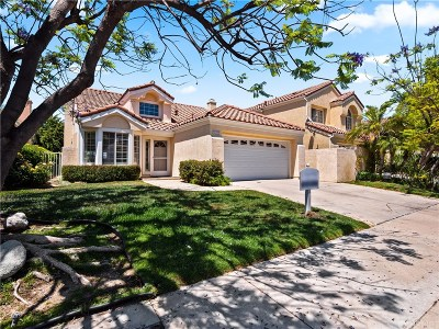 Calabasas Single Family Home Active Under Contract: 24753 Calle Altamira