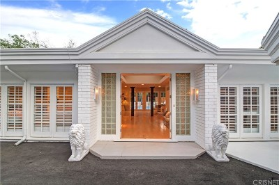 Encino Single Family Home For Sale: 15536 High Knoll Road