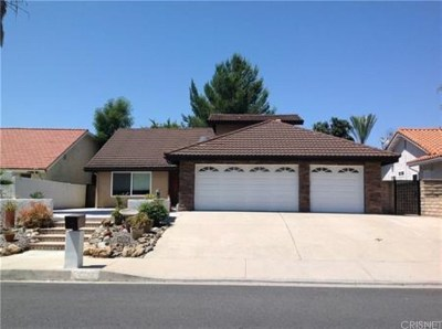 Agoura Hills Single Family Home For Sale: 28743 Timberlane Street