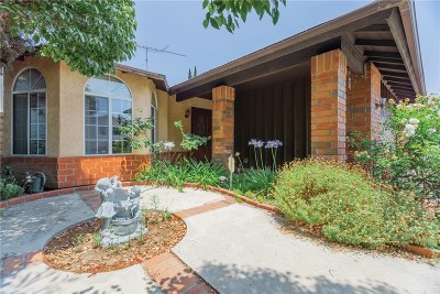 Mission Hills San Fernando Single Family Home Active Under Contract: 14927 Harvest Street
