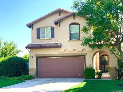 Canyon Country Single Family Home For Sale: 27605 Beechwood Drive
