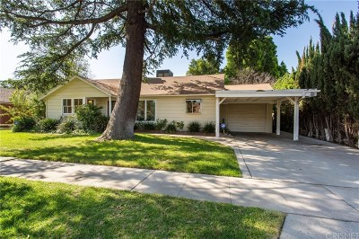 Northridge Single Family Home Active Under Contract: 17416 Cantara Street