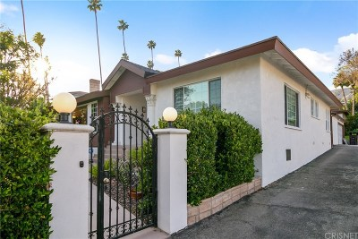 Glendale Single Family Home For Sale: 291 West Kenneth Road