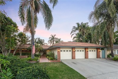 Chatsworth Single Family Home For Sale: 19848 Merridy Street