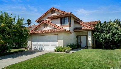 Calabasas Single Family Home For Sale: 4135 Lost Springs Drive