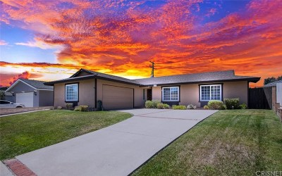 Simi Valley Single Family Home For Sale: 2291 Brentwood Avenue
