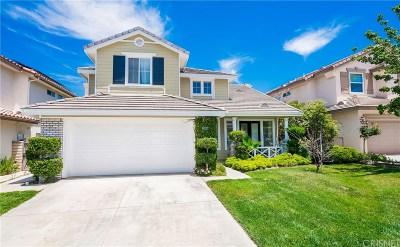 Saugus Single Family Home For Sale: 29006 Ironwood Lane