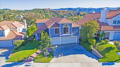 Newhall Single Family Home For Sale: 23454 Glenridge Drive