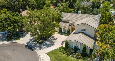 Thousand Oaks Single Family Home Active Under Contract: 12 Faculty Court