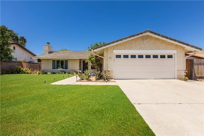 Newbury Park Single Family Home For Sale: 29 East Kelly Road