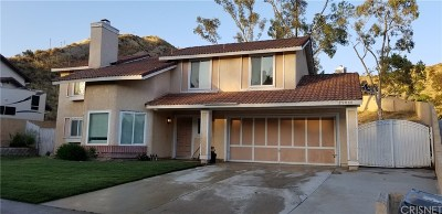 Canyon Country Single Family Home Active Under Contract: 29040 Poppy Meadow Street