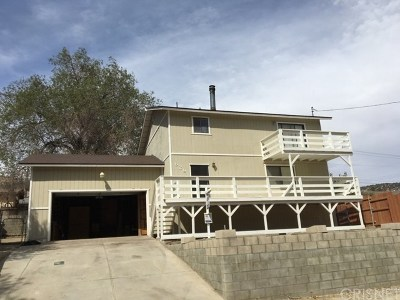 Frazier Park Single Family Home Active Under Contract: 629 Birch