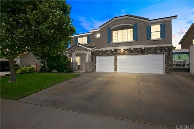 Palmdale Single Family Home For Sale: 40062 Vista Ridge Drive