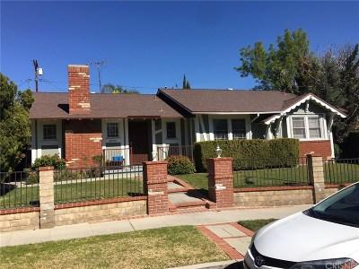 Canoga Park Single Family Home For Sale: 20957 Burton Street