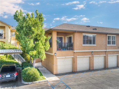 Saugus Condo/Townhouse Active Under Contract: 20000 Plum Canyon Road #1424