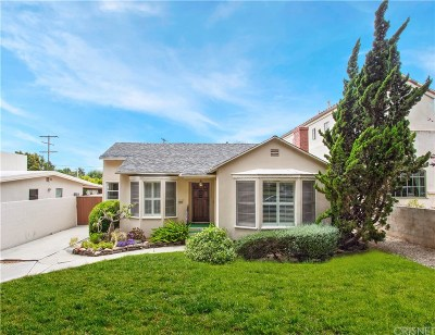 Santa Monica CA Single Family Home Active Under Contract: $1,995,000