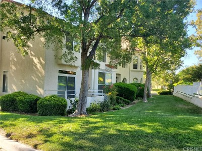 Stevenson Ranch Condo/Townhouse Active Under Contract: 25941 Stafford Canyon Road #A