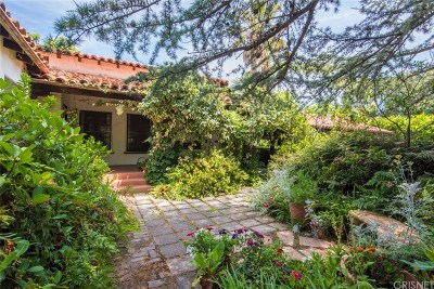 Encino Single Family Home For Sale: 17319 Magnolia Boulevard