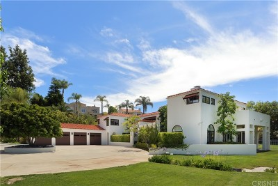 Calabasas CA Single Family Home For Sale: $3,200,000