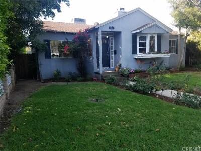 Encino Single Family Home Active Under Contract: 17323 Burbank Boulevard