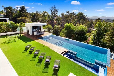 Encino Single Family Home For Sale: 16801 Oak View Drive