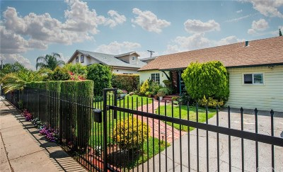 Panorama City Single Family Home For Sale: 8816 Stansbury Avenue