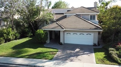 Thousand Oaks Single Family Home For Sale: 2807 Jason Court
