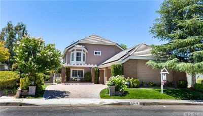 Valencia Single Family Home For Sale: 26445 Emerald Dove Drive