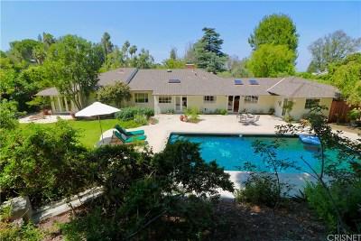 Encino Single Family Home Active Under Contract: 18090 Karen Drive