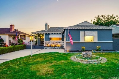 Burbank Single Family Home For Sale: 1729 North Pepper Street