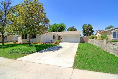 West Hills Single Family Home Active Under Contract: 22923 Covello Street