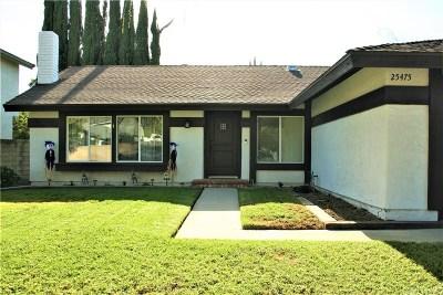 Valencia Single Family Home For Sale: 25475 Langston Street