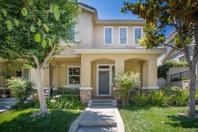 Northridge Condo/Townhouse For Sale: 11517 Autumn Glen Court