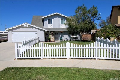Simi Valley Single Family Home For Sale: 2165 Malcolm Street