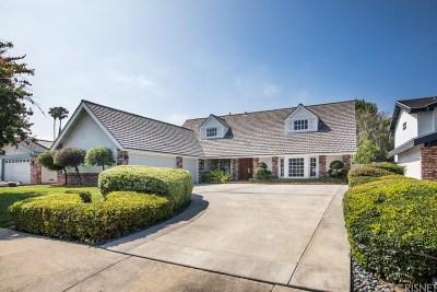 Northridge Single Family Home Active Under Contract: 17032 Knapp Street