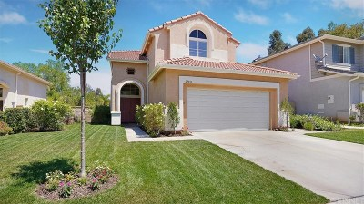 Valencia Single Family Home Active Under Contract: 27810 Springtree Place
