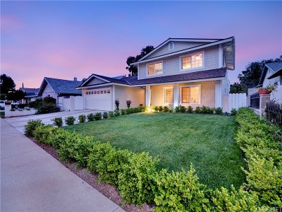 Agoura Hills Single Family Home For Sale: 5646 Medeabrook Place