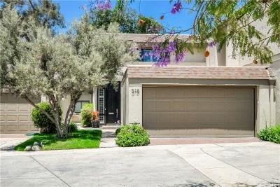 Pasadena Condo/Townhouse For Sale: 201 North Orange Grove Boulevard #518
