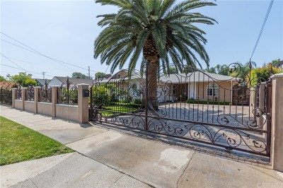 Van Nuys Single Family Home For Sale: 13738 Wyandotte Street