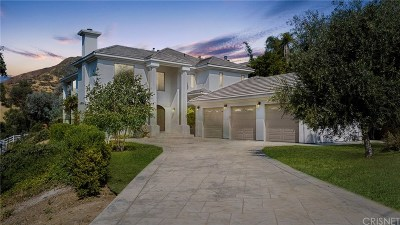 Agoura Hills Single Family Home For Sale: 4135 Cornell